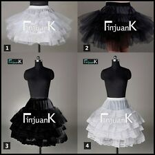 50s Retro Underskirt Swing Vintage Petticoat Fancy Net Skirt Rockabilly Tutu