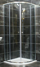 900mm Chrome Quadrant Shower Enclosure Cubicle + Tray Option Lifetime Guarantee