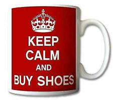 Keep Calm and Buy Shoes Mug Cup Gift Mugs