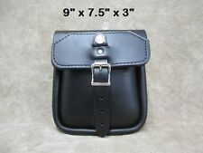 Motorcycle Leather Sissy Bar Bag The Leatherworks 99 Made in the USA
