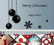 Hand Carving Christmas Decoration Happy New Year Snowflake window wall sticker