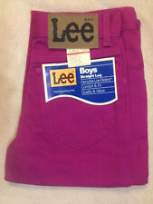 New Original Vintage Lee Twill Colors Unwashed Jeans Pink