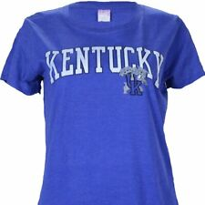 University of Kentucky UK LADIES ARCH on HEATHER BLUE Shirt Wildcats Basketball