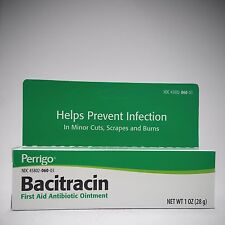 Bacitracin First Aid Antibiotic Ointment 14gm or 28gm tubes