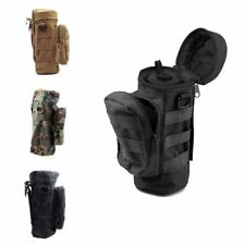 Airsoft Tactical MOLLE 1000D Water Bottle Pouch Bag with Mesh Bottom new popular