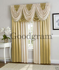 Hilton Luxurious Window Curtain Treatments By GoodGram® Available In Many Colors