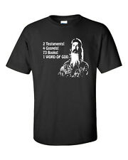 Phil Robertson 2 Testaments 4 Gospels 73 Books 1 WORD of GOD Men's Tee Shirt