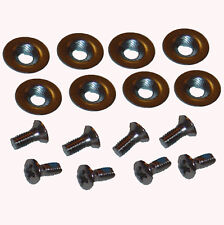 Snowboard Binding Mounting Hardware (8 x Fixings / Screws Bolts Washers)