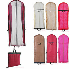 6 Colors Extra Large Garment Bags Wedding Dress Party Gown Protective Cover