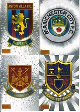 Merlin Ultimate Premier League 1995 / 96 - Laser Etched Team Emblem Cards!