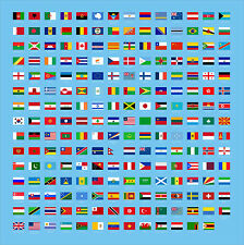 WORLD FLAGS (Choose your FLAG/COUNTRY) Vinyl Decal / Sticker ** 5 Sizes **