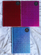 A5  NOTEBOOK - HOLOGRAPHIC HARDBACK COVER - BRAND NEW