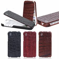 HOCO Knight Crocodile Flip REAL Genuine Leather Case Cover for Apple iphone 5 5S
