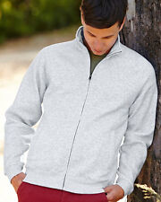 Fruit Of The Loom Full Zip Sweat Jacket 62230 All Colours and Size S-2XL