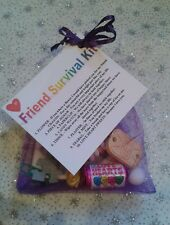 FRIEND SURVIVAL KIT Keepsake Birthday Gift Present BEST FRIEND Thank you 1st CP