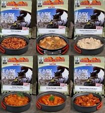 Vestey BTBT Ready To Eat Meals MRE Camping Food Scouts D of E Army Ration Packs