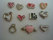 VALENTINE'S DAY FLOATING CHARMS FOR YOUR LIVING LOCKETS