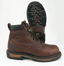 ROCKY IRON CLAD WATERPROOF STEEL TOE LEATHER WORK BOOTS (FQ0006696) - ALL SIZES