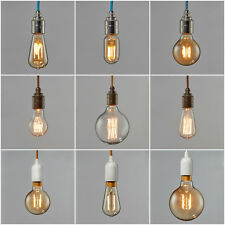 Filament Light Bulb Edison Vintage Decorative Antique Industrial Retro 60w 40w