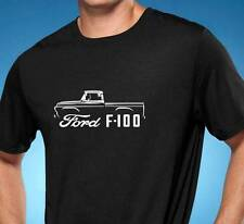 1957-60 Ford F-100 F100 Truck Classic Outline Design Tshirt NEW FREE SHIPPING