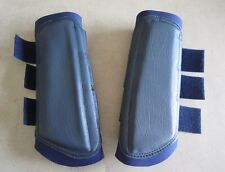 Horse Arena or Work & Exercise Boots More Protection NAVY BLUE AUSTRALIAN MADE