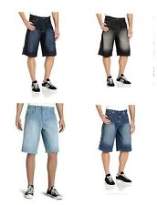 SOUTHPOLE Mens BIG TALL Relaxed Fit Denim Blue Jean SHORTS pick color and size