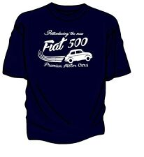 """""""Introducing The New"""" Fiat 500 Retro T-Shirt."""