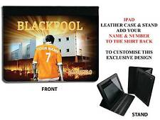 PERSONALISED UNOFFICIAL BLACKPOOL IPAD PU LEATHER CASE