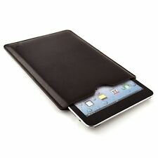 Dark Leather Tablet Sleeve by Dockem for iPad 1 2 3 4, Air 1 & 2, Mini 1 2 & 3