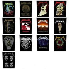 METALLICA Sew On Back Patch - Patches NEW OFFICIAL 13 designs to choose from