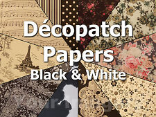 Decopatch Paper for Decopatch/Decoupage BLACK Colourways  99p & Only one p/p