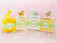 12pc Born To Be Wild Baby shower Favor Boxes Party Decorations (FREE SHIPPING!!)