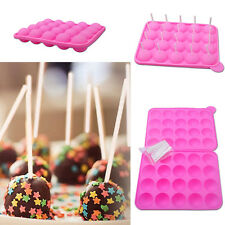 EVC Silicone Tray Pop Cake Stick Pops Mould Cupcake Baking Mold Kitchen Tools