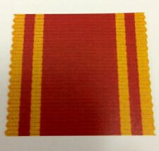Fire Service LSGC Full Size Medal Ribbon, Long Service Good Conduct, Brigade