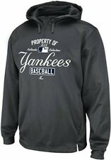 New York Yankees Majestic Authentic Property Of 1/4 Zip Hoodie Big & Tall Sizes