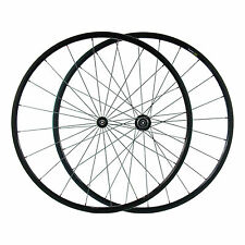 Carbon Fiber Road Bike Wheelset 24mm Tubular Rim Shimano/Sram 9/10/11 Speed