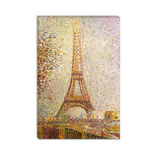 Eiffel Tower Georges Seurat Canvas Print Painting Reproduction