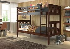 TWIN MISSION BUNK BED CAPPUCCINO bunkbeds beds!!!