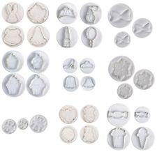 NEW Pavoni Plunger Cutters - Shoe, Party Animals, Cupcakes, Travel & MUCH MORE!!