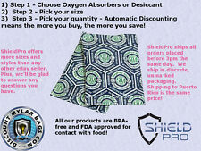 Oxygen Absorber Desiccant Ultimate Listing - Pick any size and Quantity 300 500