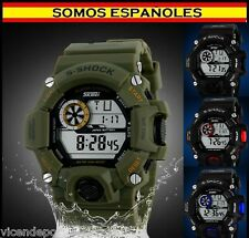 RELOJ S-SHOCK  DIGITAL DEPORTIVO MILITAR RESINA Watch Sport Waterproof 50M HQ !!