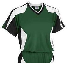 TEAMWORK SOCCER JERSEY T-SHIRT TEE -PLAY GAME CASUAL MOISTURE MANAGEMENT ADULT M