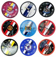 Official - Football Club Stripe Crest Wall Clock - Christmas Birthday Gift