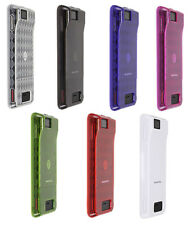 TPU Gel Phone Cover Case Motorola Droid X X2 Black/White/Blue/Red/Purple/Green