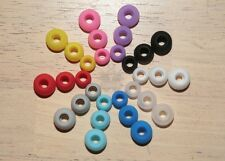 6 Pairs Replacement Tips for Sennheiser In Ear Buds Earphones Rubber Soft