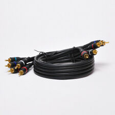 5-RCA Component Video/Audio Coaxial Cable (RG-59/U) for HDTV DVD VCR 6Ft - 25Ft