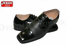 Mens Coronado Astaire Black Oxford Modern Dress Shoes Leather Interior Lace Up