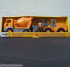 Truck Concrete mixer Excavator cylinder Digger Construction vehicles Sand - toy
