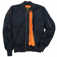 ALPHA INDUSTRIES BURNETT FLIGHT JACKET XS,S,M,L,XL,2XL,3XL ARMY