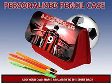 PERSONALISED AC MILAN UNOFFICIAL PENCIL CASE GAMES CARRIER DS TRAVEL BAG